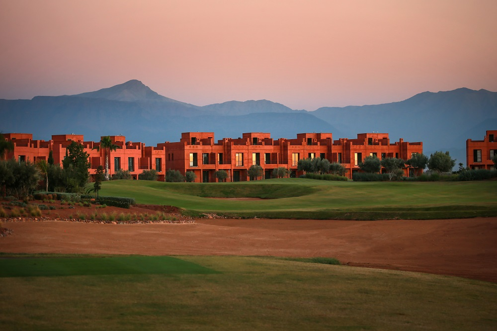 Large bunker et resort Palm Golf Ourika au Maroc à Marrakech