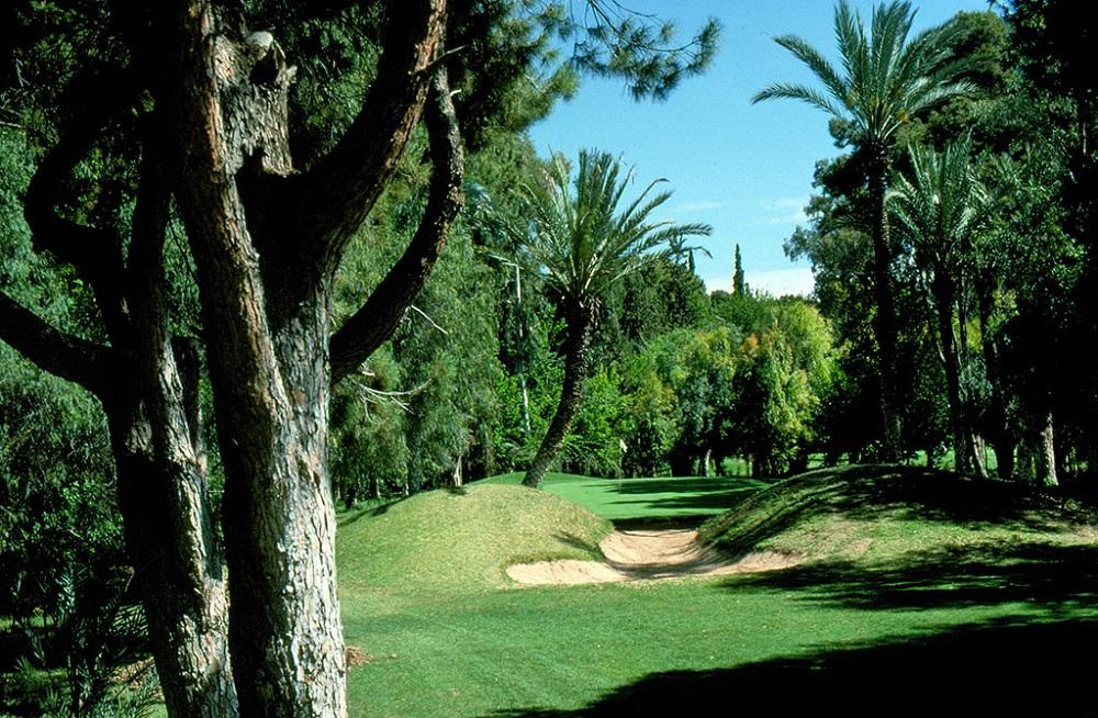 Les sous bois du Golf Royal de Marrakech.