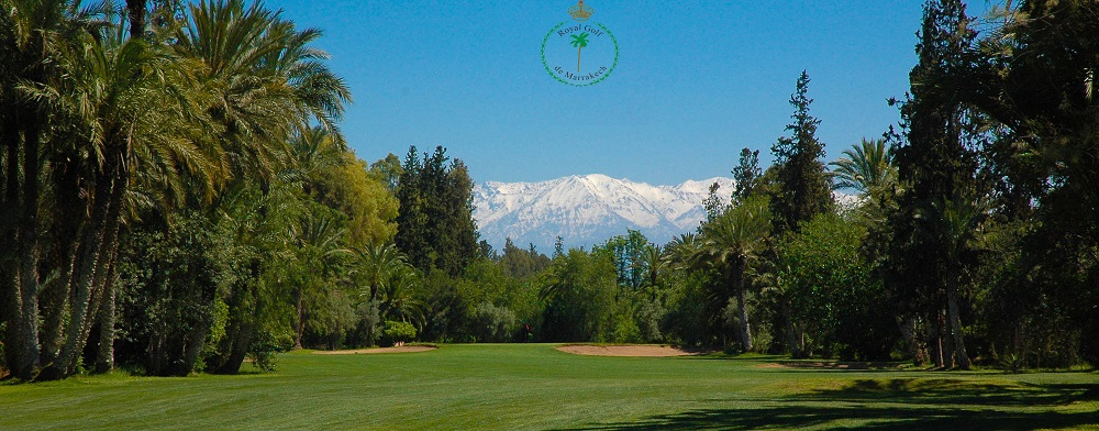 La vue panoramique du Golf Royal de Marrakech.