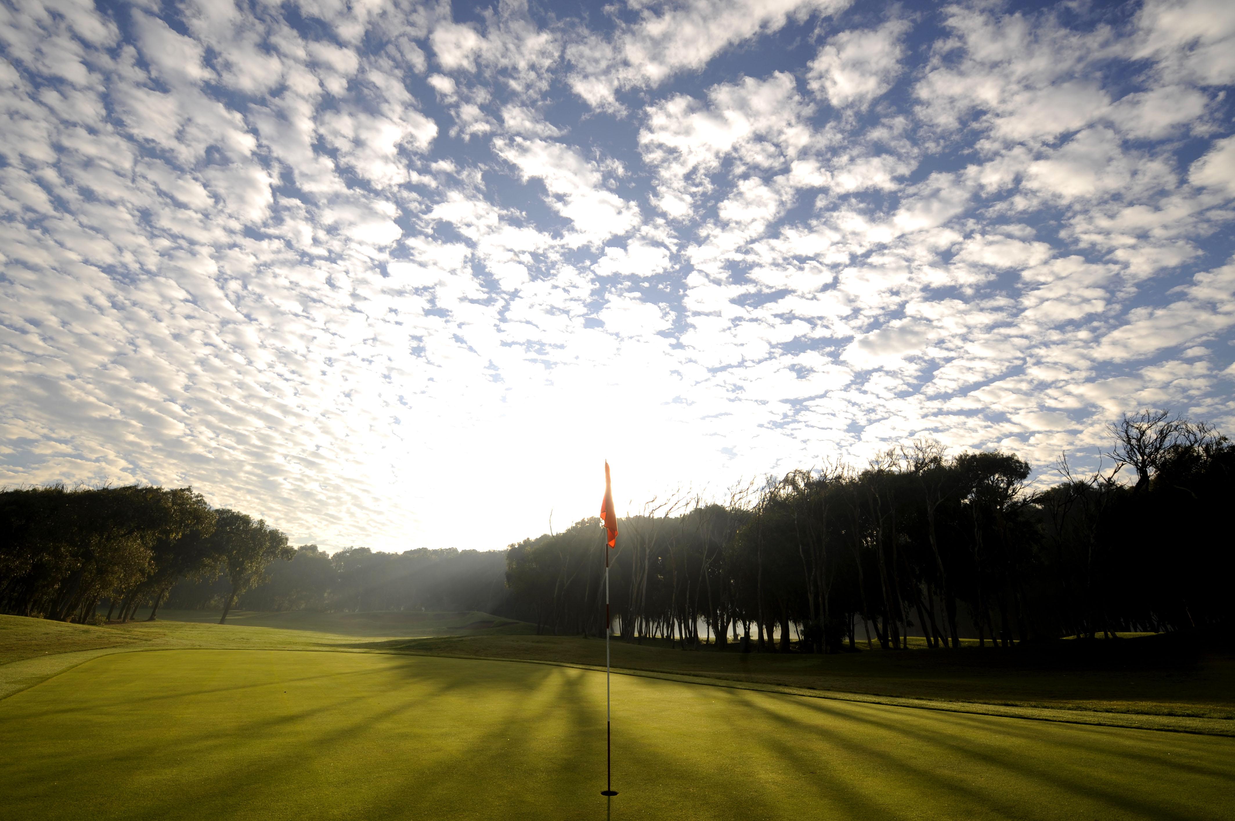 Le ciel du golf d'El Jadida Royal.