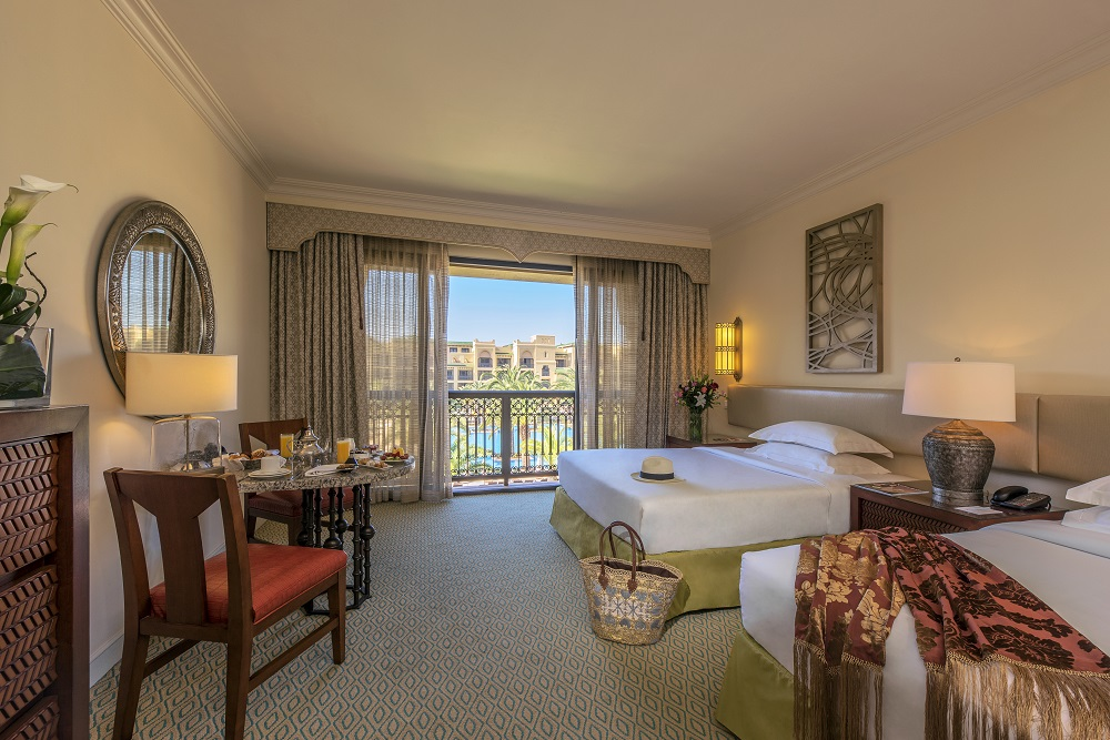Une chambre de l'hôtel de Mazagan Beach Resort.