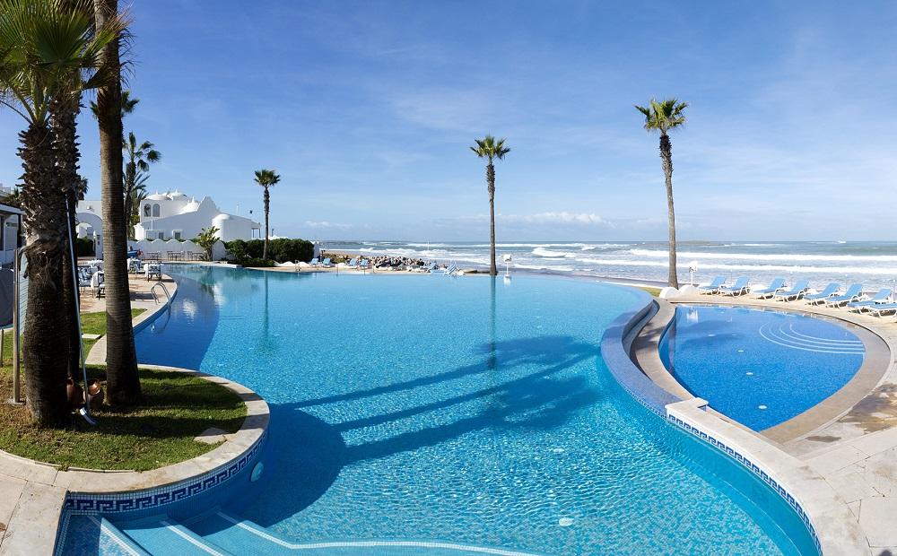La piscine d'Amphitrie.