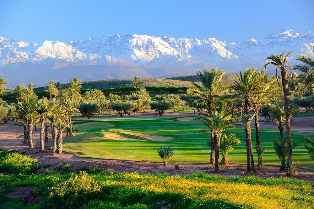 Le cadre du  golf d'Assoufid.