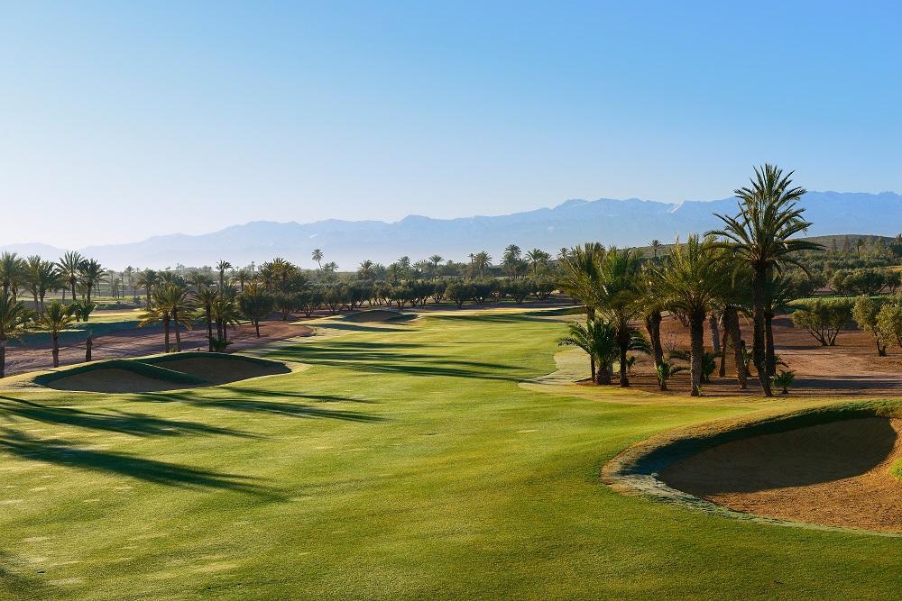 La paysage du  golf d'Assoufid.