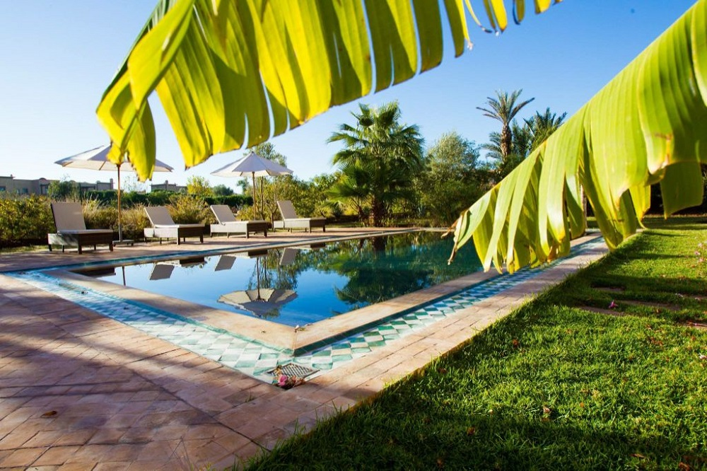 La piscine du golf de Samanah.