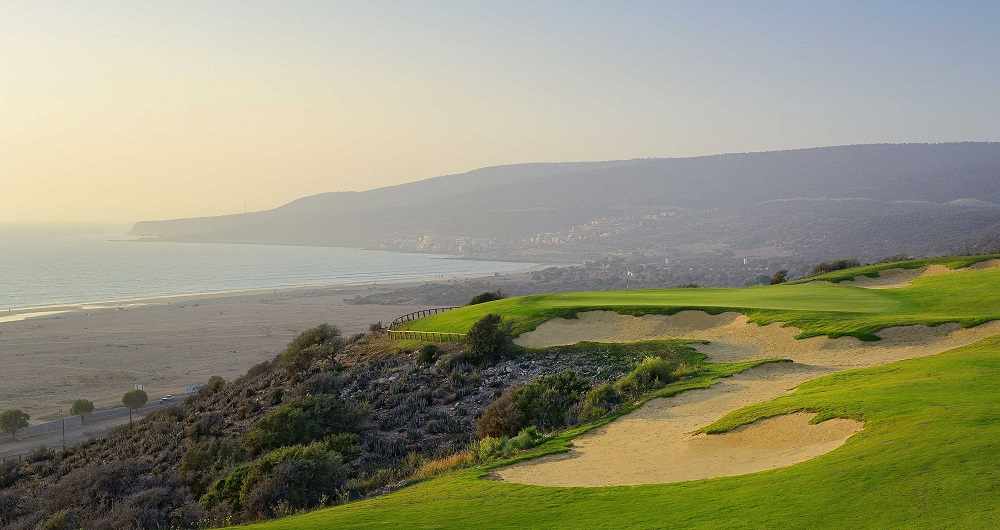 Le paysage du golf du Tazegzout.