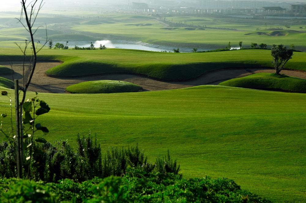 Le paysage du golf de Casa Green.