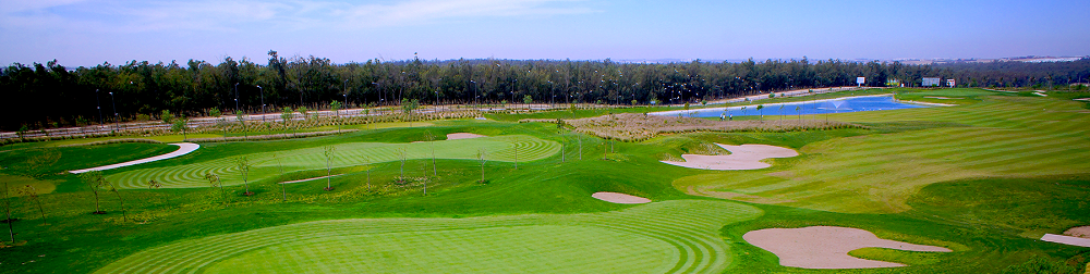 La vue panoramique du golf de Tony Jacklin Casablanca.