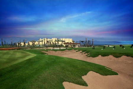 Le bunker du golf d'El Jadida Royal.