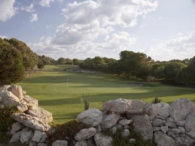 Le fairway du golf de Mogador.
