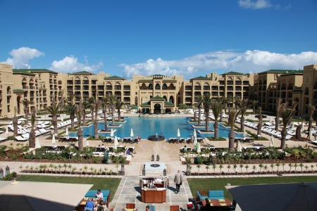 L'hôtel le mazagan beach resort.
