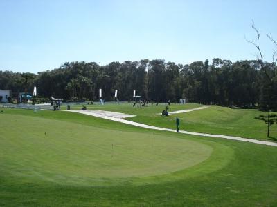 La zone d'entrainement du golf d'El Jadida Royal.