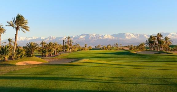 Les fairways de qualité du  golf d'Assoufid.