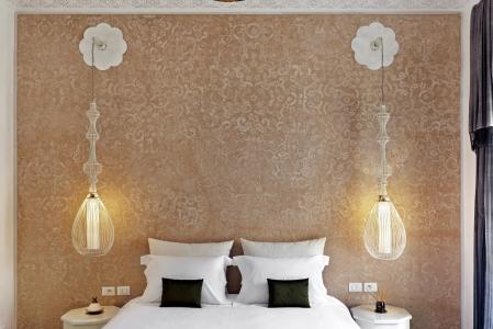 Une chambre à la Riad Nashira.