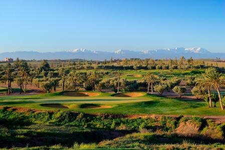 Vue d'ensemble du  golf d'Assoufid.