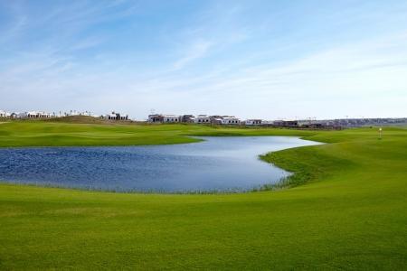 Un étang du golf de Casa Green.