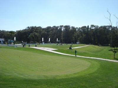 Le putting green du golf d'El Jadida Royal.