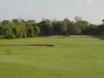 Le fairway du golf le royal mohammedia