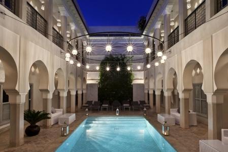 La piscine de la Riad Nashira.