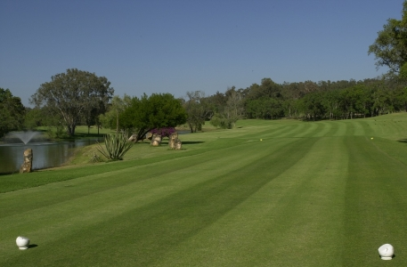Le fairway du golf le Royal Dar Es Salam.