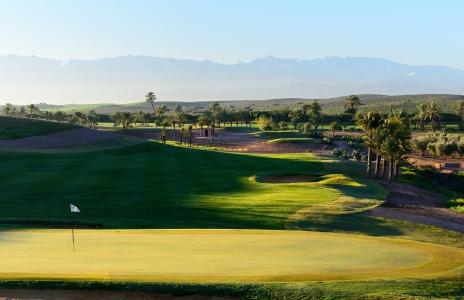 Vue panoramique du  golf d'Assoufid.