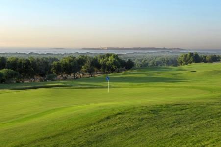 Le green du golf de Mogador.