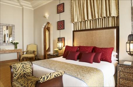 Une chambre de l'hôtel le mazagan beach resort.