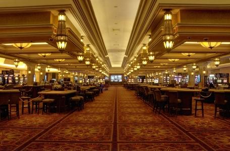 Le casino de l'hôtel.