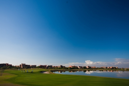 Le paysage du golf de Samanah.