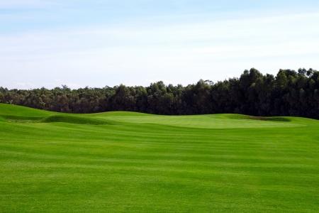 Le fairway du golf de Casa Green.