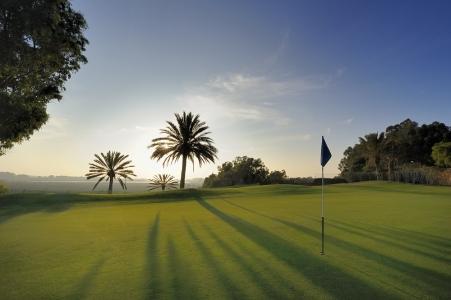 Un green du Golf du Soleil.