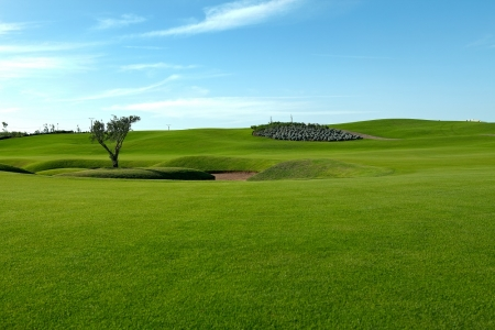 Un fairway du golf de Casa Green.