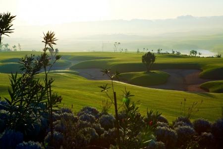 Les bunkers du golf de Casa Green.