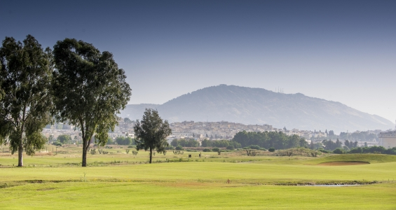 Les montagnes du golf d'Oued Fès.