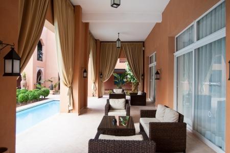 Une terrasse du Tikida Rouge.