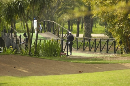 Le pont du golf le Royal Dar Es Salam.