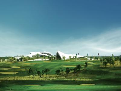 Le paysage du golf de Tony Jacklin Casablanca.