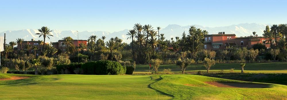 Le paysage du golf de Palmeraie.