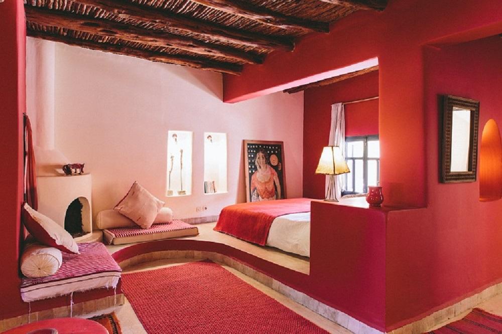 Une chambre de l'hôtel de Baoussala.