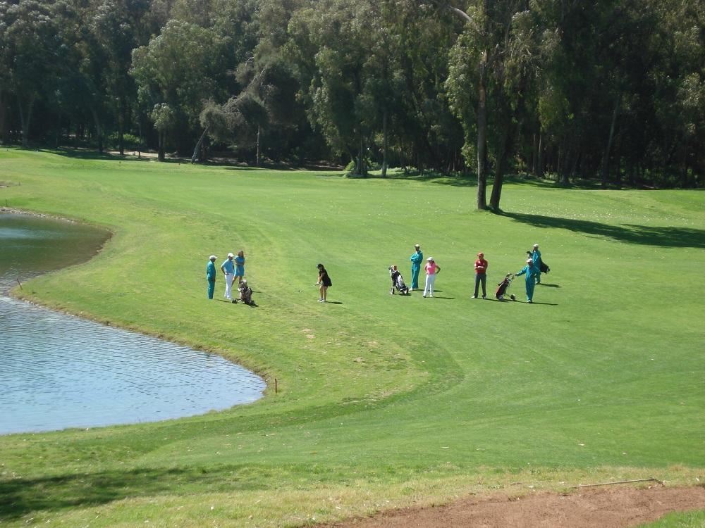 Les joueurs du golf d'El Jadida Royal.