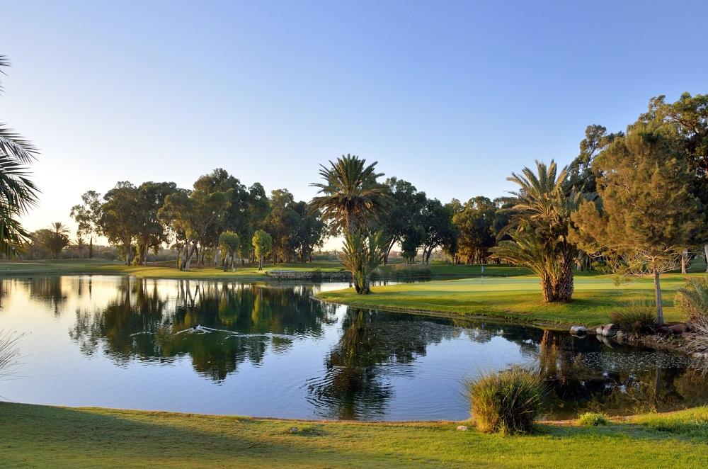 parcours du golf du Soleil à Agadir au Maroc